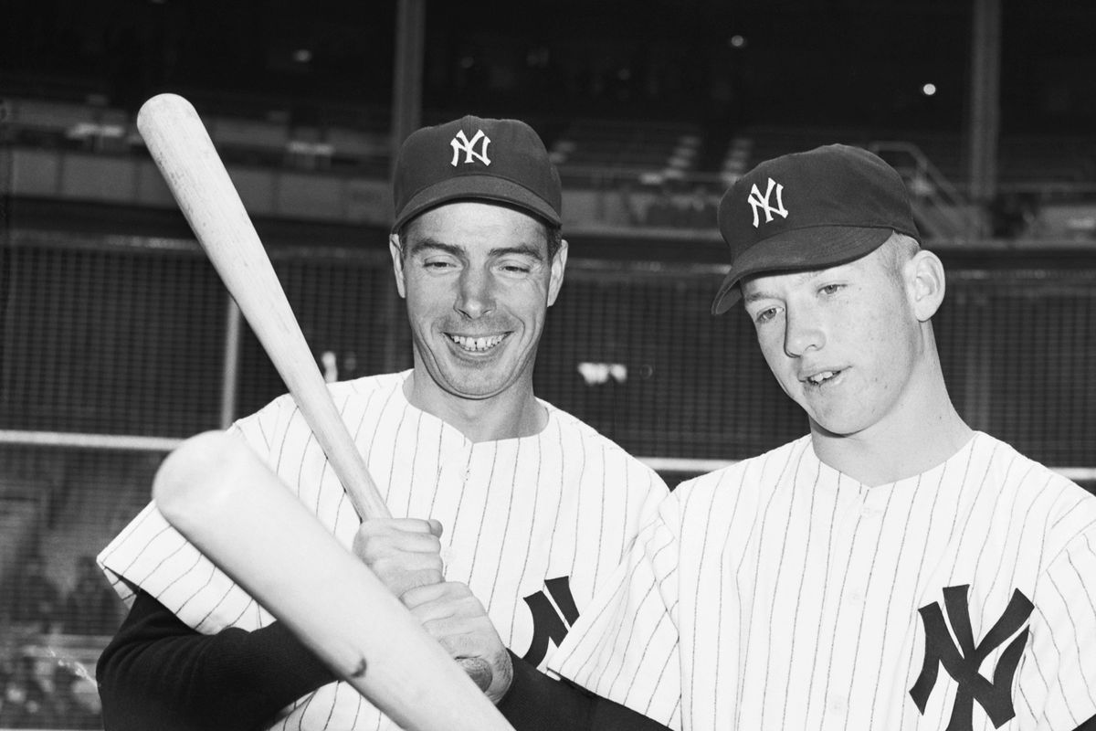 Joe DiMaggio, Mickey Mantle And Ted Williams