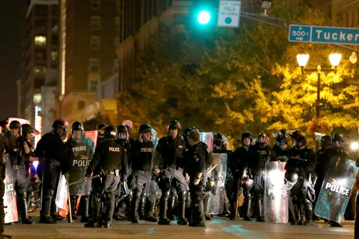 St. Louis City Police Department protest