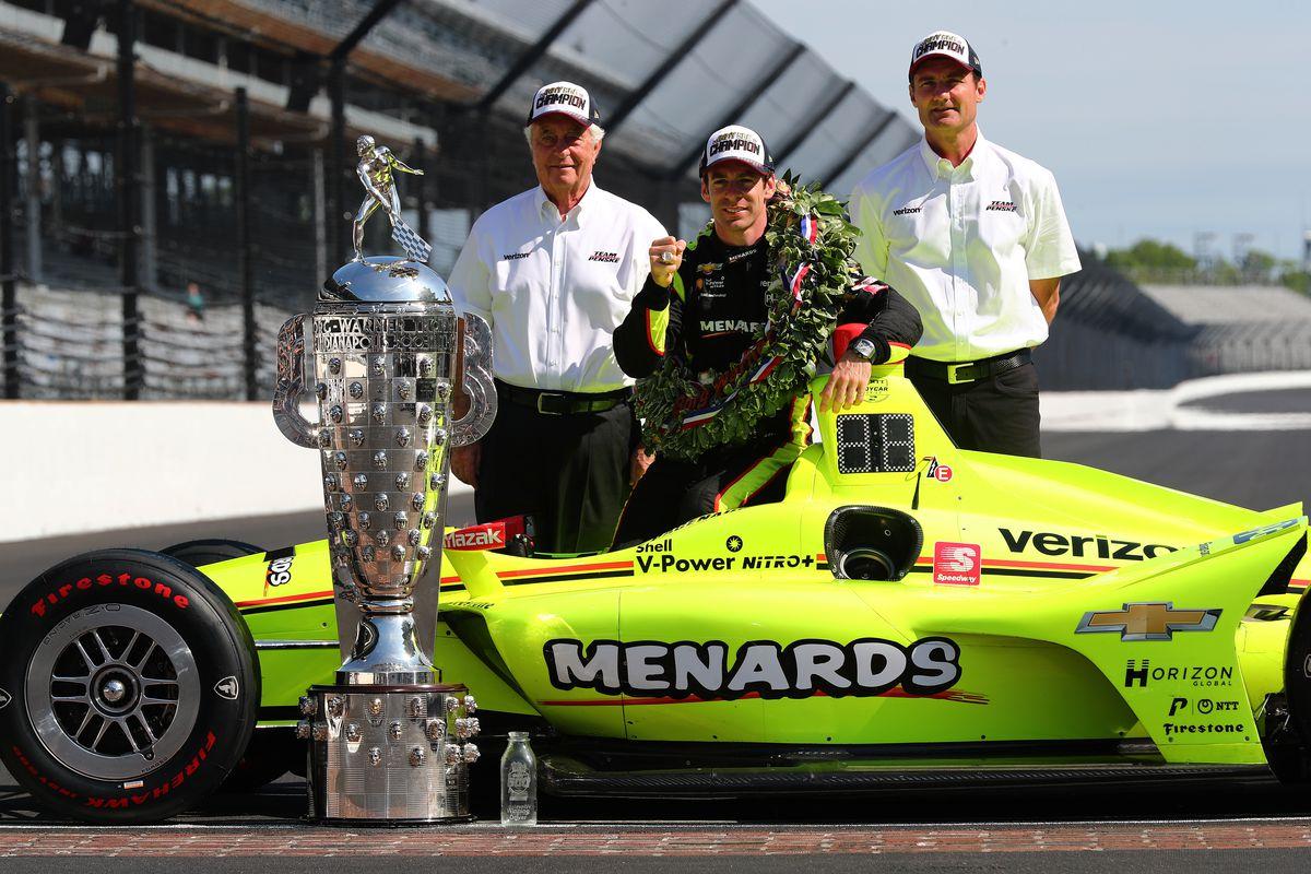 103e Indianapolis 500 - Portraits des gagnants