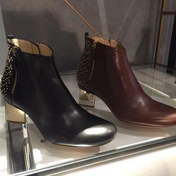 Leather boots, $268.50 (originally $895)