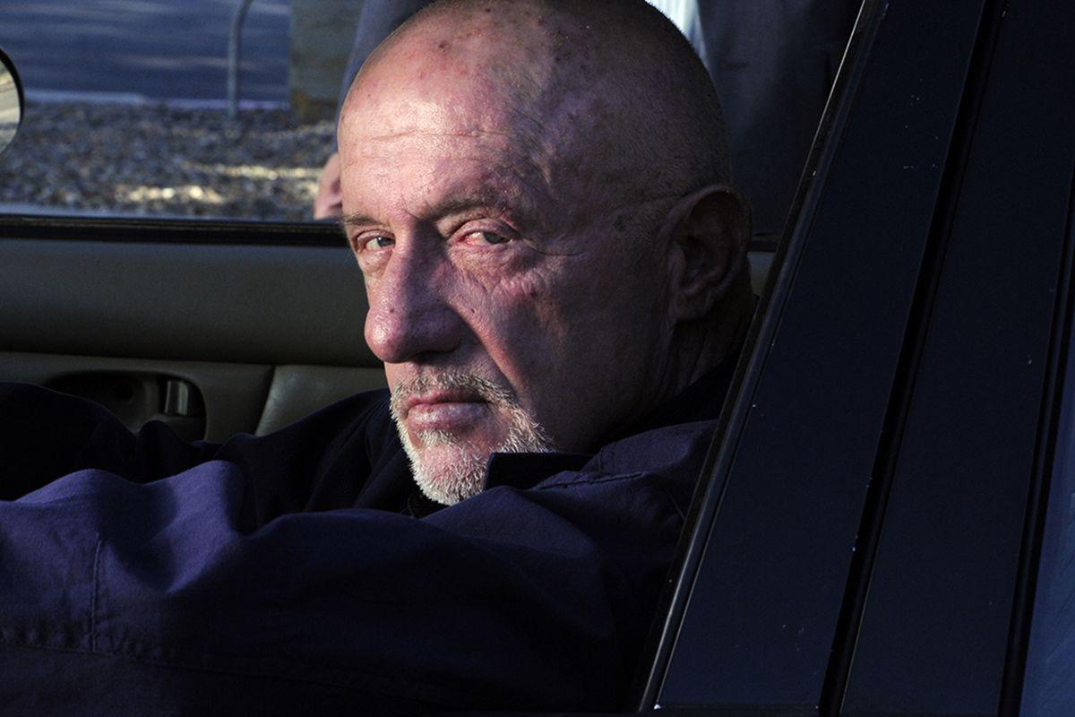 Jonathan Banks as Mike Ehrmantraut in Breaking Bad (AMC)