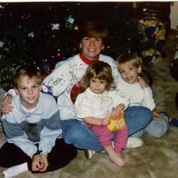 Diane Laney Fitzpatrick in bygone days in Cary, Ill., with Michael, Caroline and Jack. Michael, 27, now lives in Moscow, Russia; Jack, 23, lives in Washington, D.C.; and Caroline, 21, is a college student in Florida.