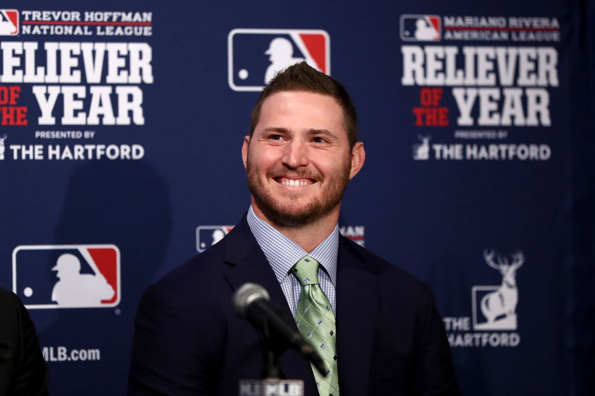 He may not have won the Cy Young, but he's definitely the AL reliever of the year.