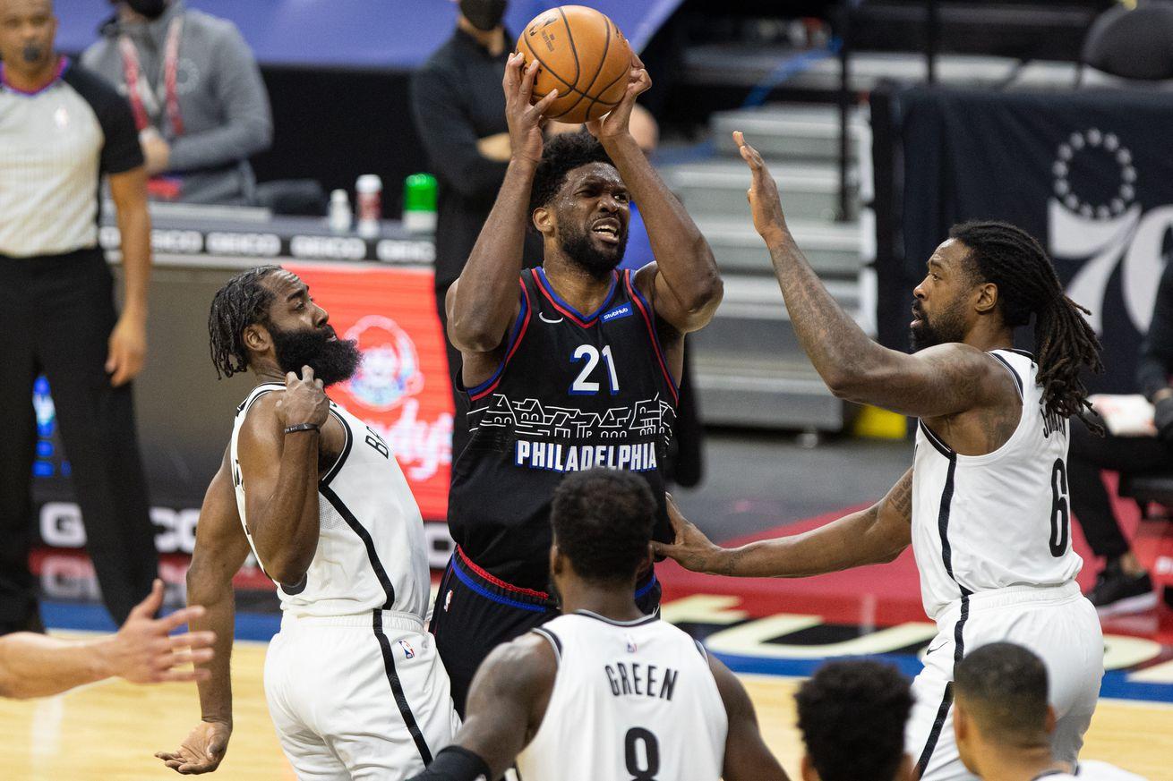 NBA: Brooklyn Nets at Philadelphia 76ers
