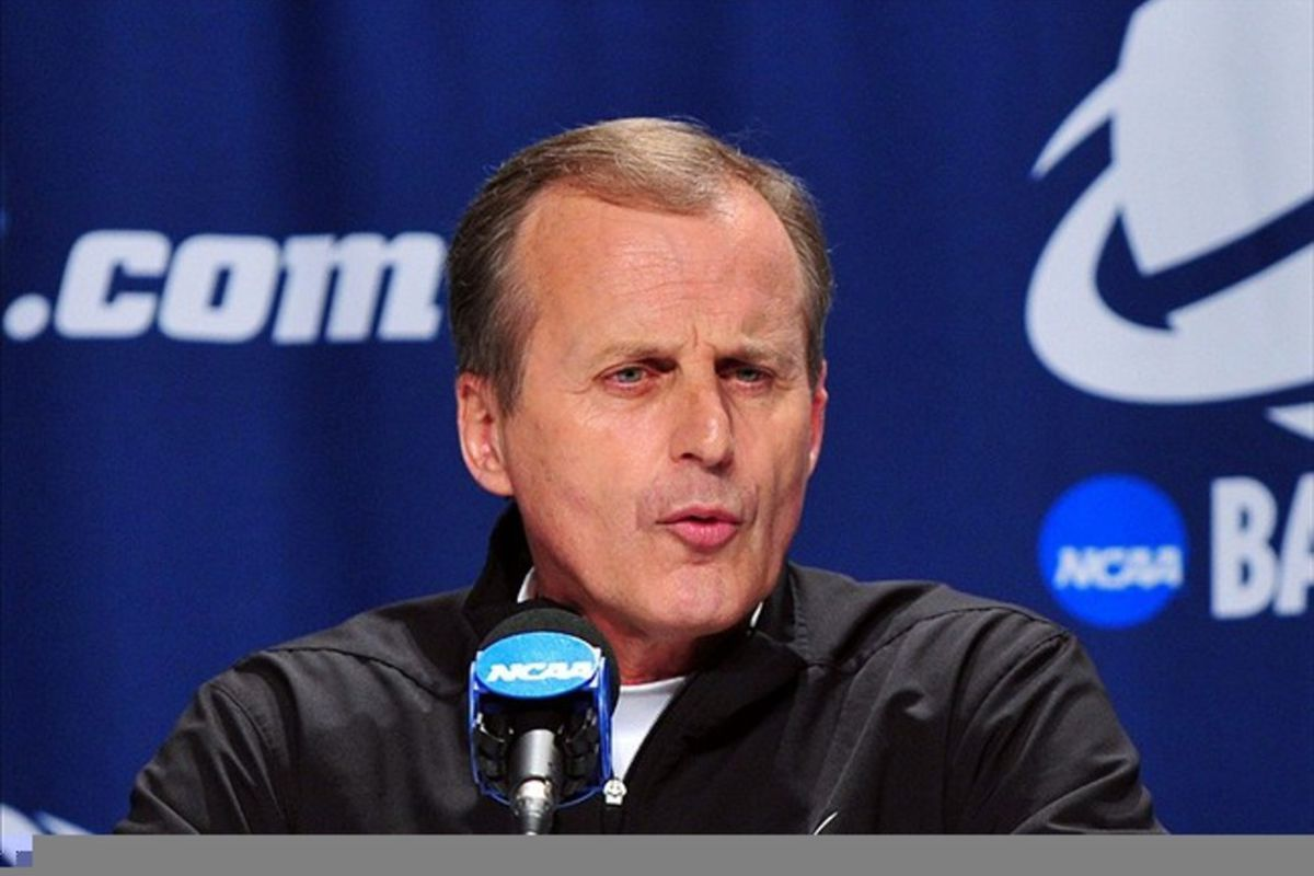 Texas head coach Rick Barnes is surprised to learn that one of his highly recruited freshmen is returning for a sophomore season.