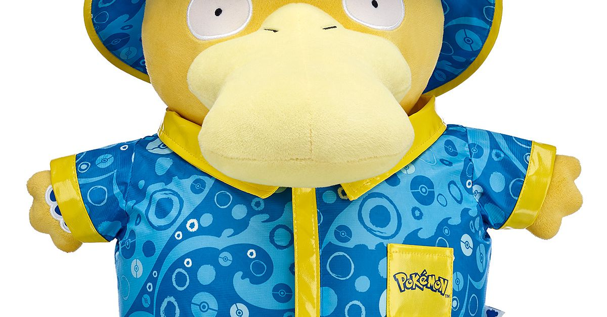 Build-A-Bear's Pokémon plushie lineup now includes Psyduck, Snubbull