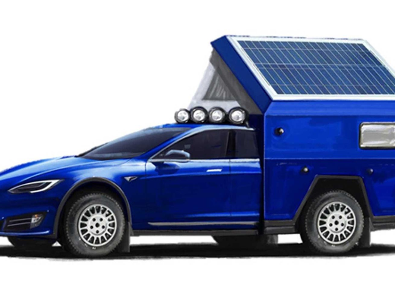 Tesla camper wants to be fastest RV in the world