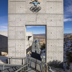 The Utah Olympic Park near Park City is pictured on Monday, Nov. 30, 2020.