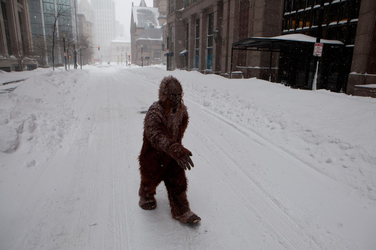 SASQUATCH IS REAL
