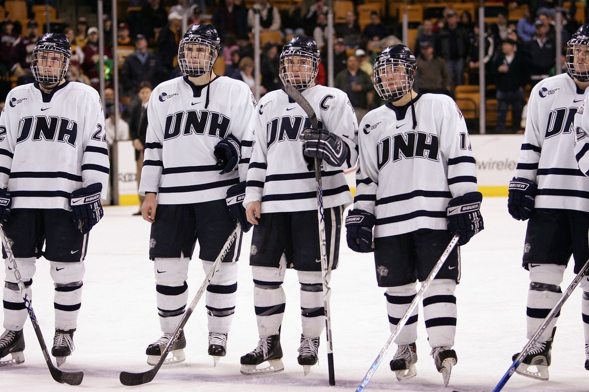 UNH players hope to earn the Hockey East Regular Season trophy this weekend as they take on arch-rival Maine twice.