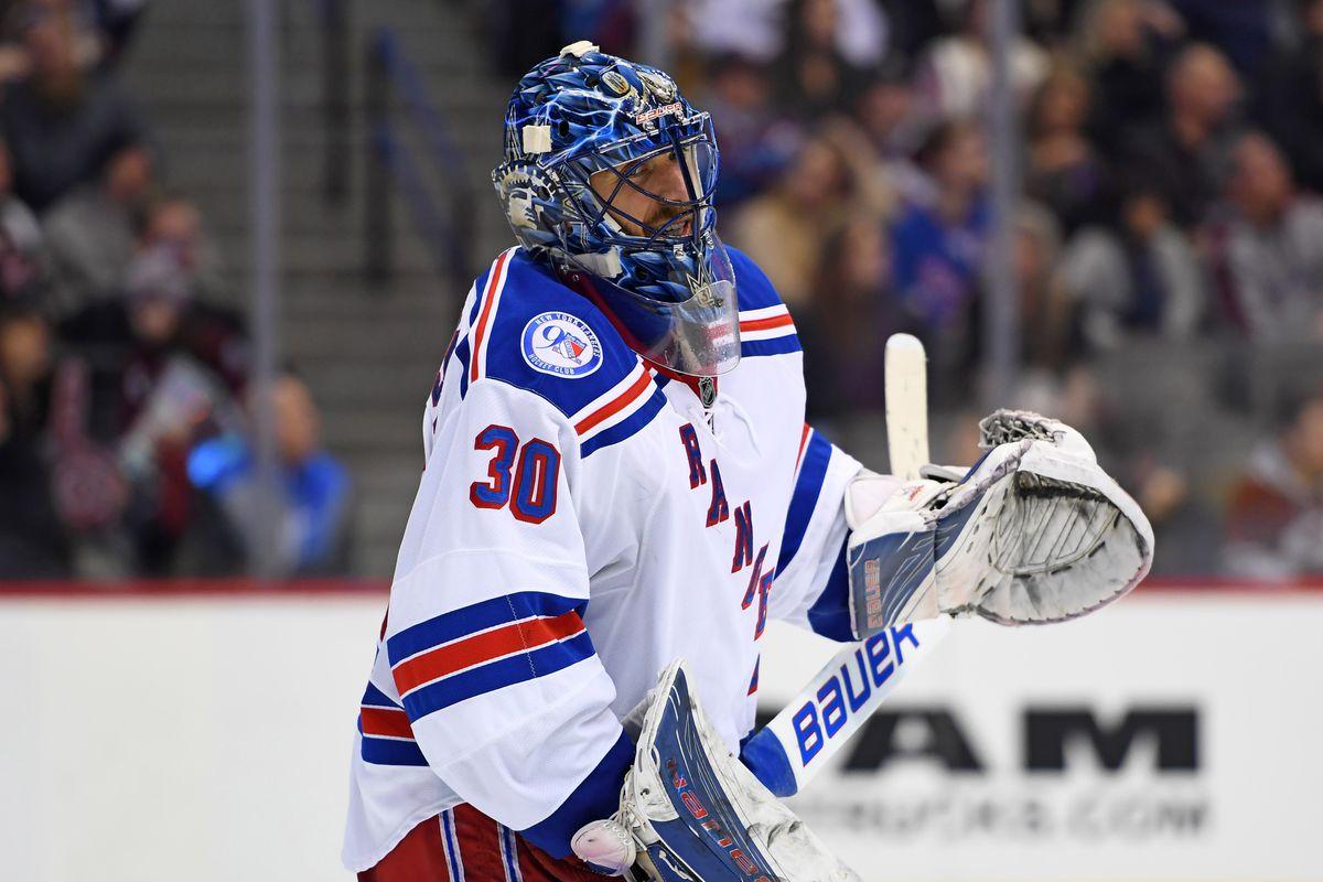 NHL: New York Rangers at Colorado Avalanche