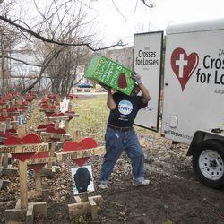 Greg Zanis, of Crosses For Losses