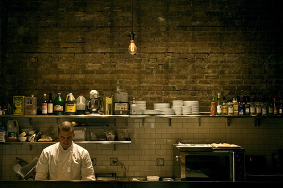 New Orleans: the lonely chef.