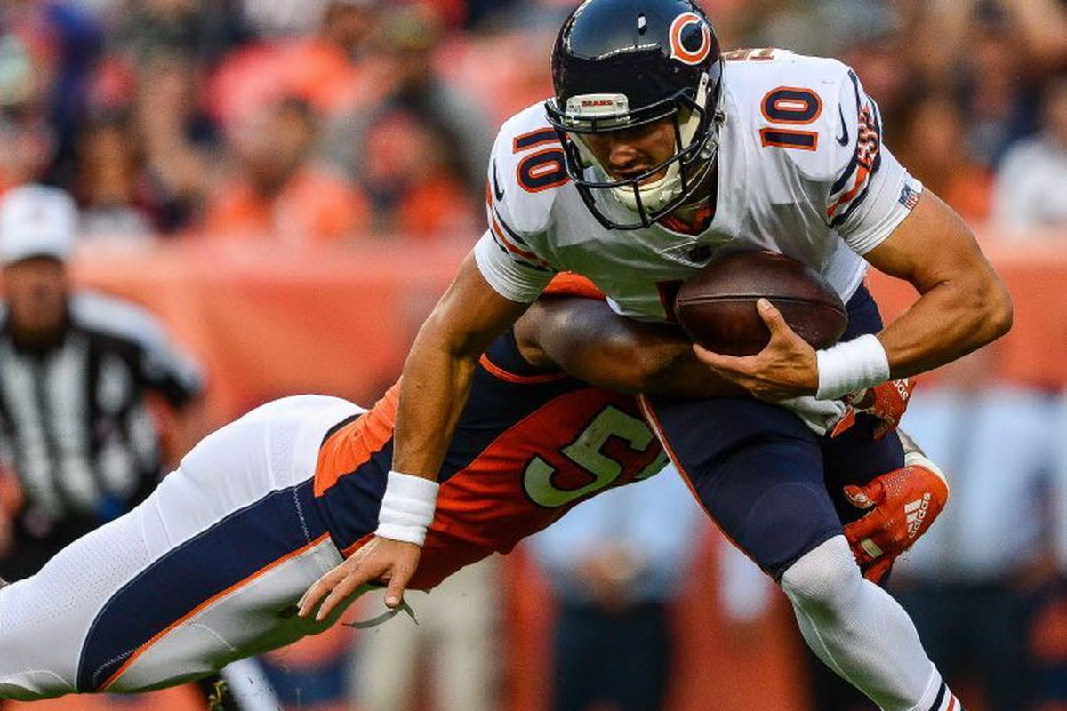 97130d87 Bears vs. Broncos: Mitch Trubisky flashes in third preseason game ...