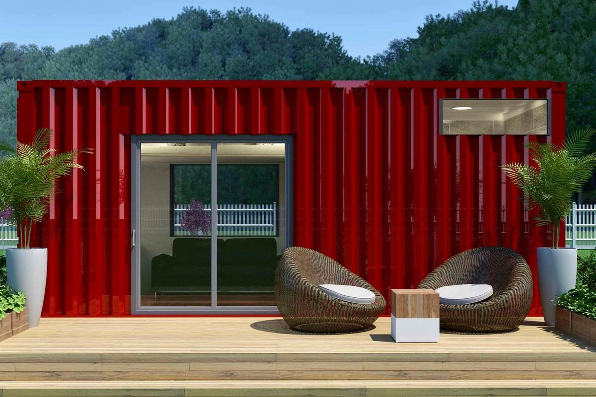 Shipping Container House Wants 55k For 160 Square Feet Of