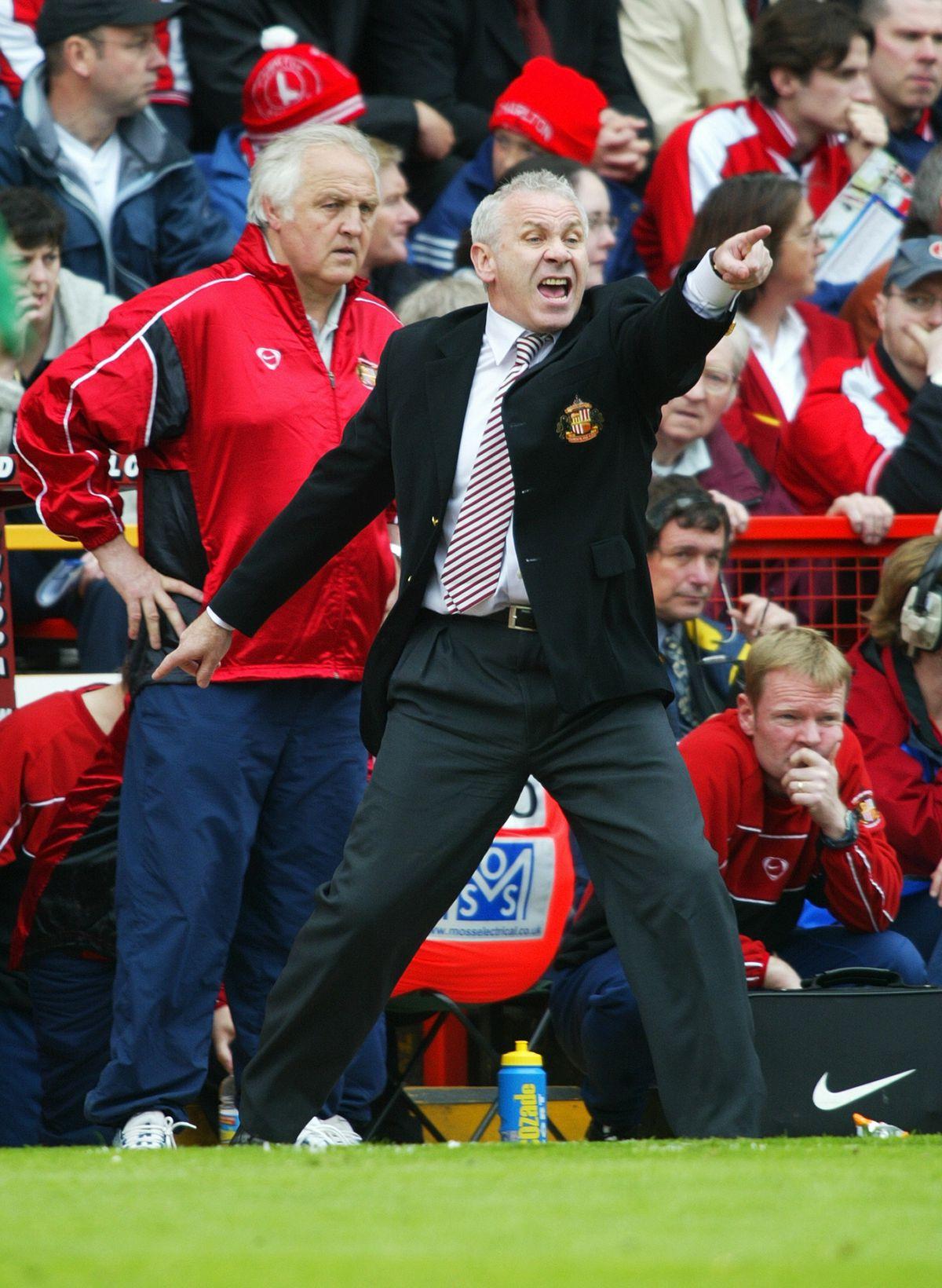 Sunderland manager Peter Reid