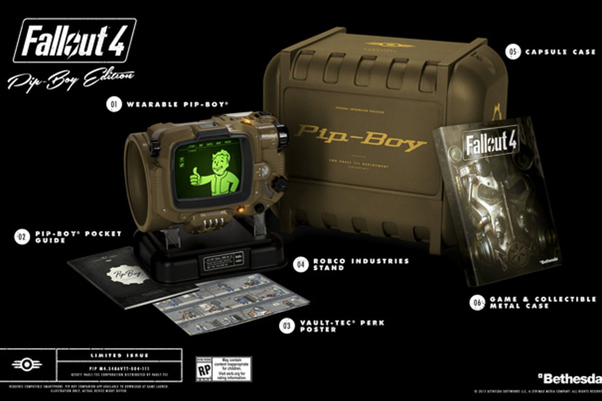 Xbox One Fallout 4 Pip-Boy Edition and Far Harbor Giveaway