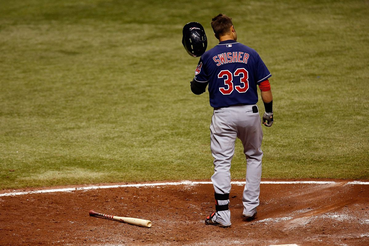 Nick Swisher after a strikeout.