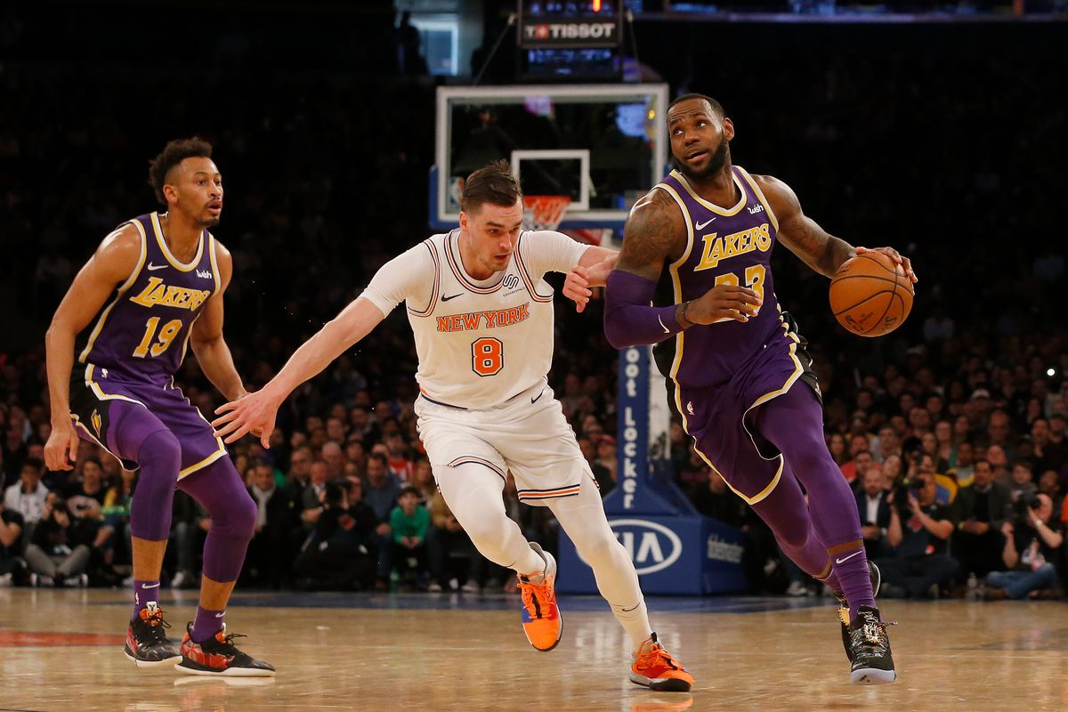 Lakers Vs Knicks Preview Game Thread Starting Time And Tv