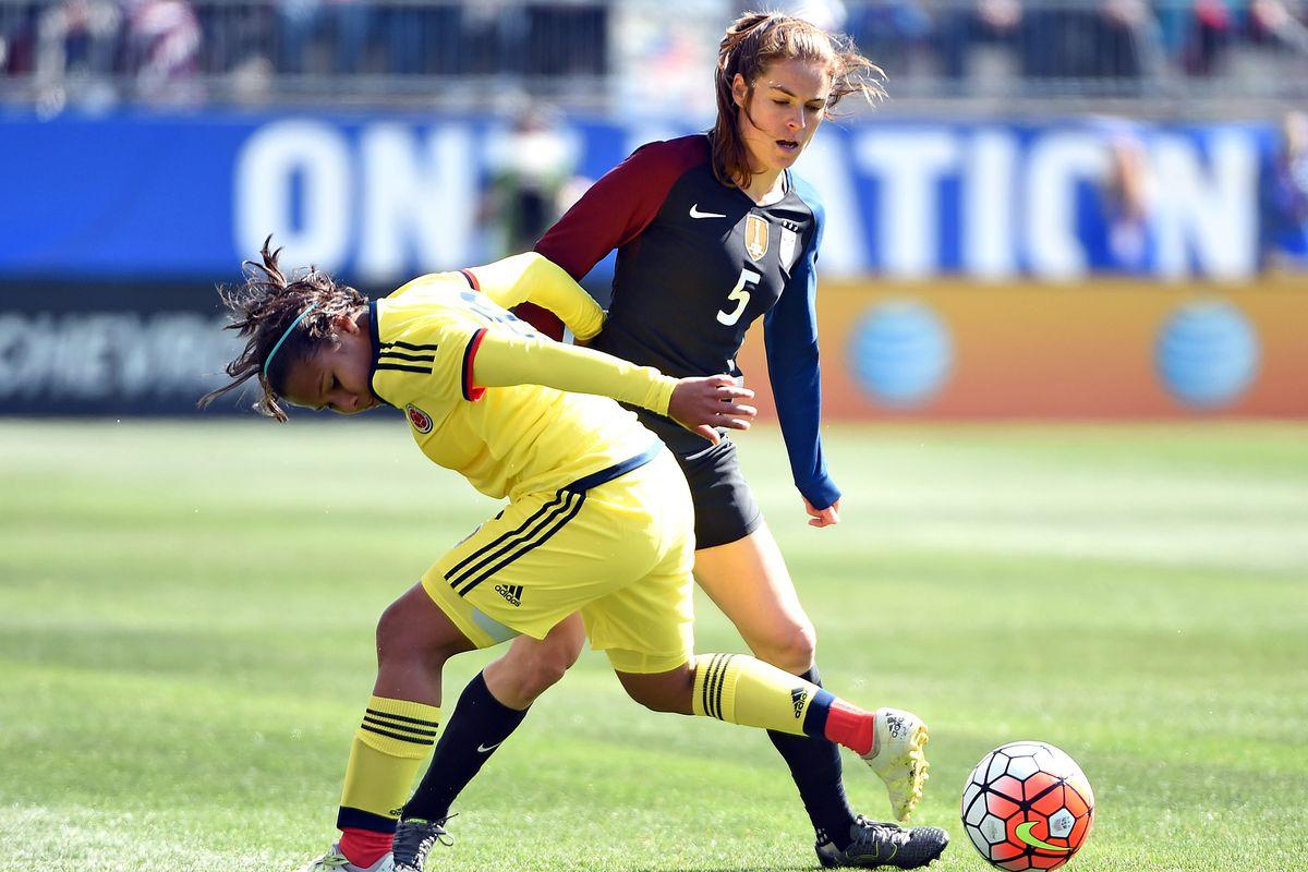 Soccer: U.S. Women's National Team Friendly Soccer Match-Columbia at USA