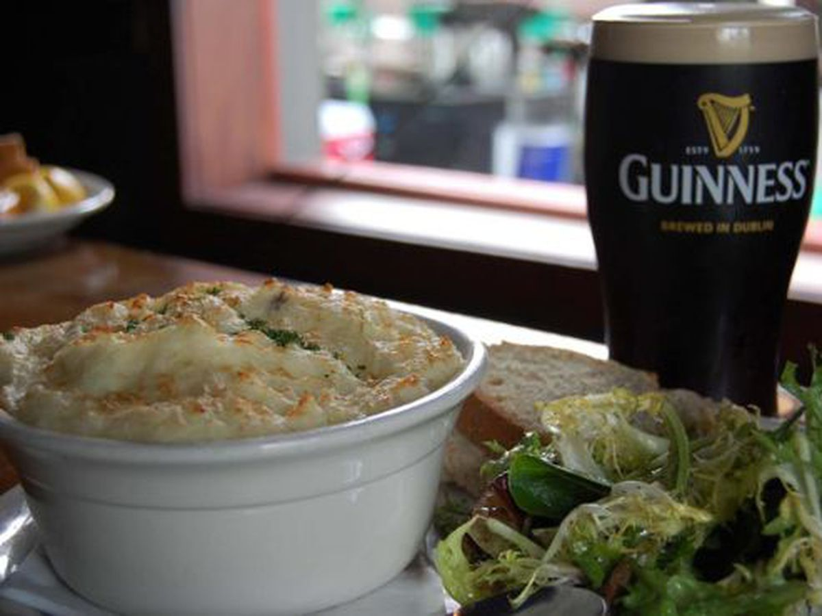 Shepherd's pie and Guinness: match made in heaven?