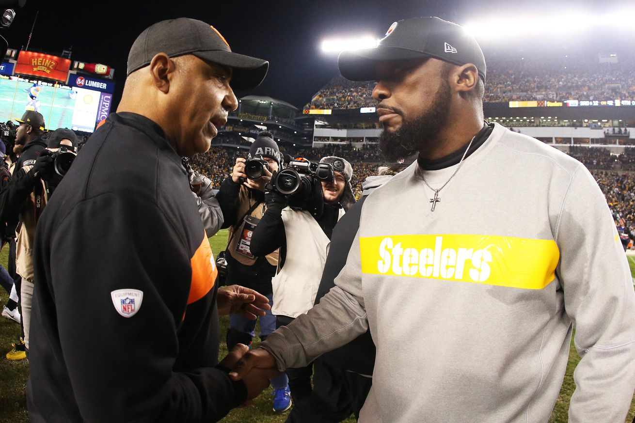 Around AFC North: Mike Tomlin gets the help that Marvin Lewis needed