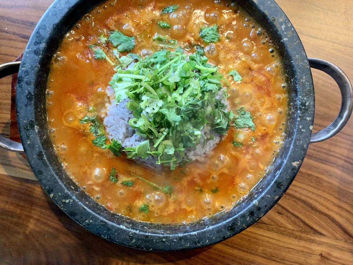 Dish from Maru Kitchen in Westlake Village.