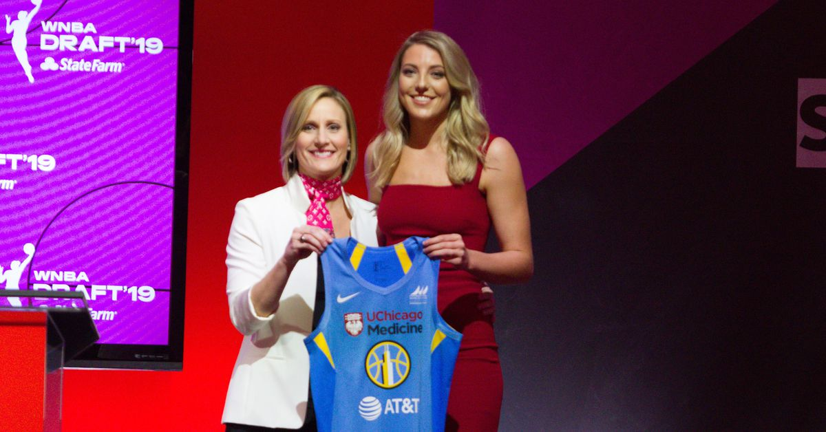 e5ce7a0c1154 4 Overall by Chicago Sky in WNBA Draft
