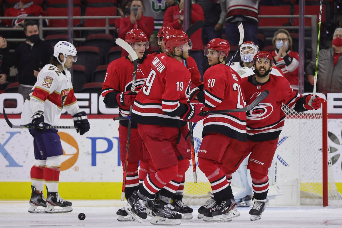 Panthers winning streak ends with 5-2 loss to Hurricanes - Litter Box Cats