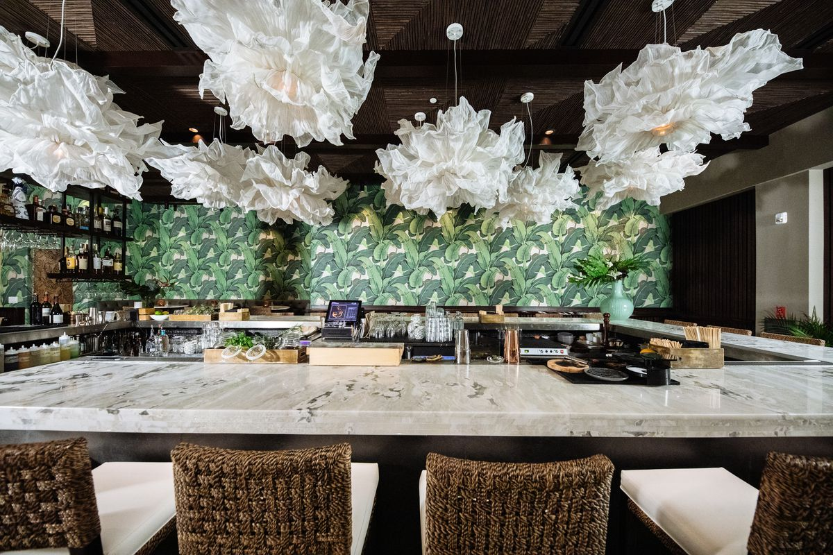 Step Inside Tulum Oak Lawn S New Resort Chic Dining