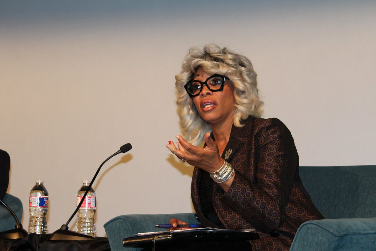 Chief of Schools Sharon Griffin speaks at a panel event in November hosted by Stand for Children.