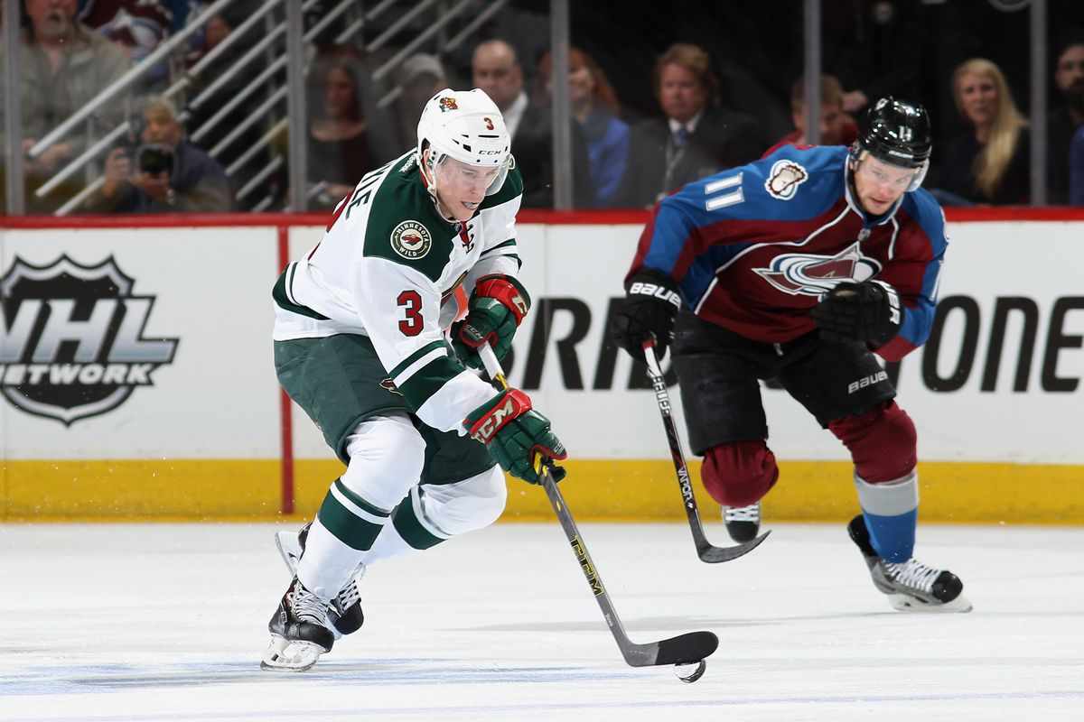 Charlie Coyle will likely be in a Minnesota Wild Uniform until 2020.