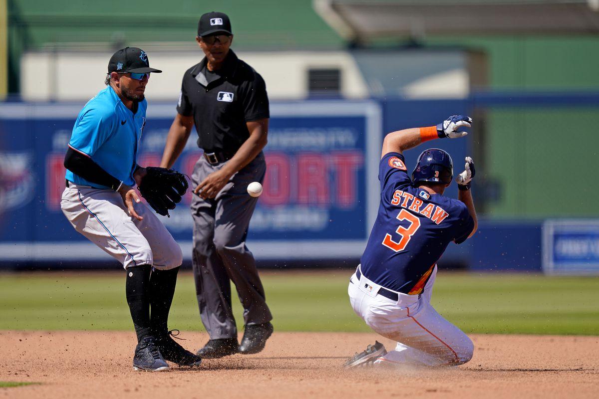 MLB: Miami Marlins at Houston Astros