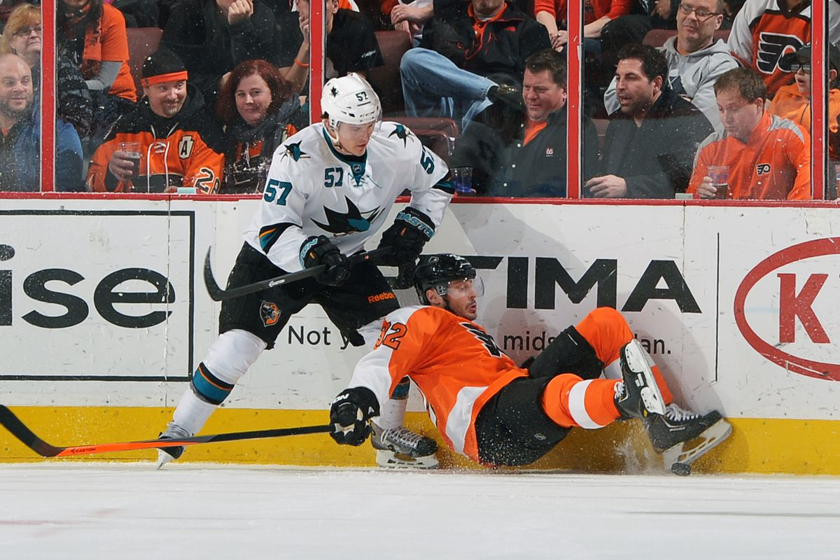 This was pretty much as good as it got for the Flyers.