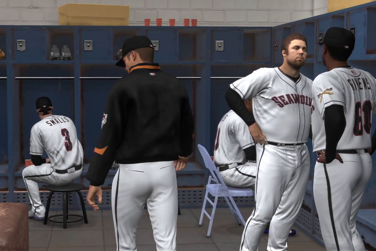The Erie SeaWolves' manager is about to present you with a career-changing  opportunity in MLB The Show 17. PlayStation/YouTube
