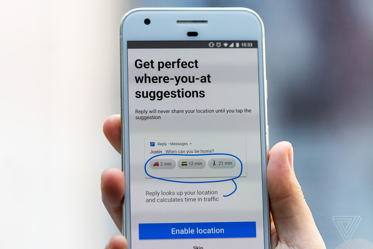 Image result for Google ends support for Reply, which added smart replies to third-party apps
