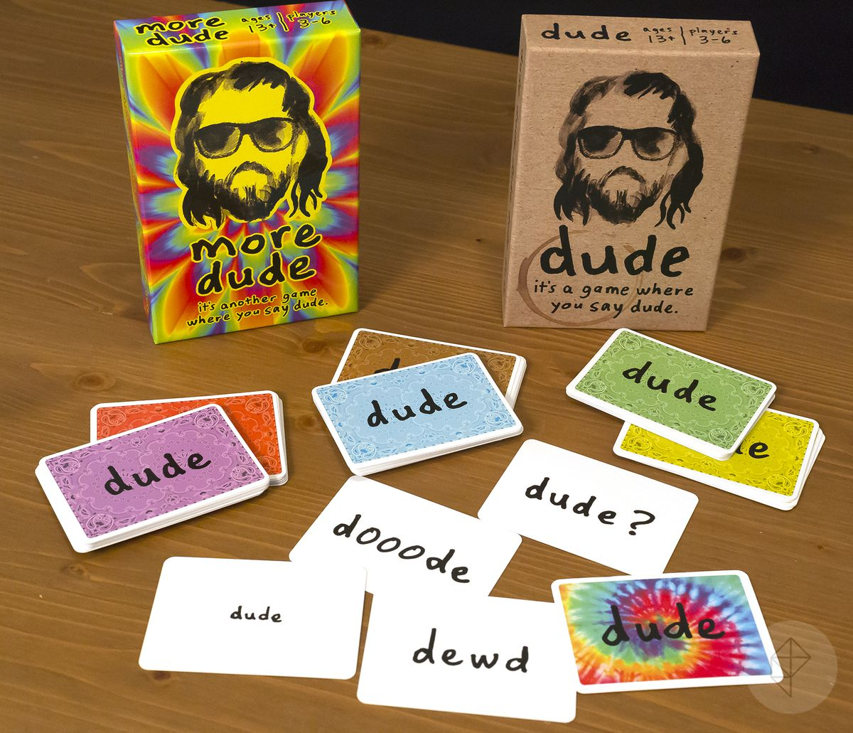 Gen Con 2018 — A collection of cards from Dude.