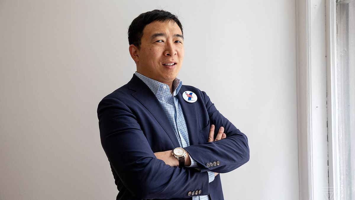 Andrew Yang is the candidate for the end of the world - The