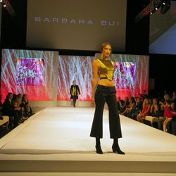 Runway show featuring Barbara Bui's S/S 2014 collection at Elyse Walker's ninth annual Pink Party.