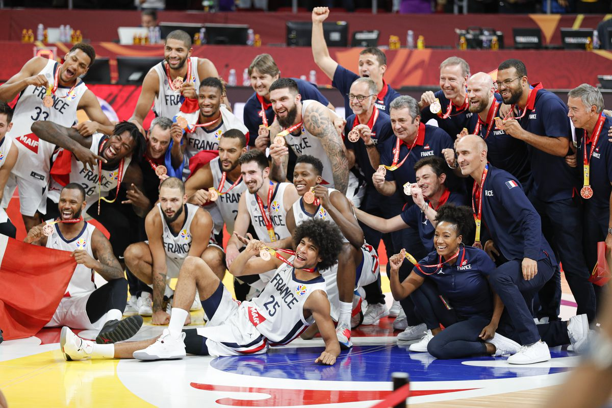 France gets Bronze at FIBA World Cup
