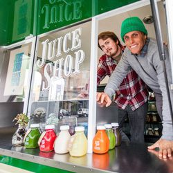"""The Juice Shop's Hayes location is a truck called Narney; all photos by <a href=""""http://www.patriciachangphotography.com/"""">Patricia Chang</a>"""