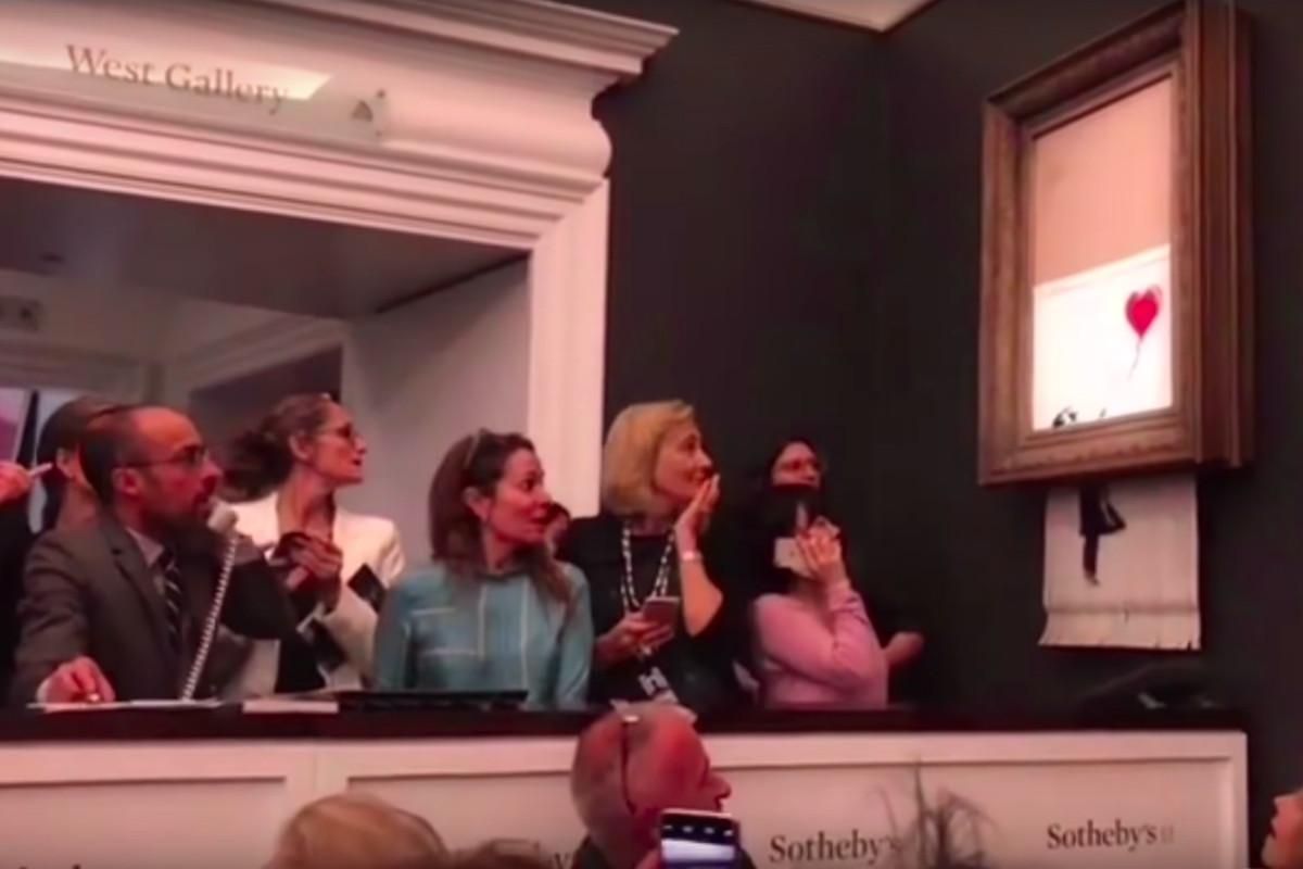Banksy's shredded Sotheby's art was a rebuke of empty