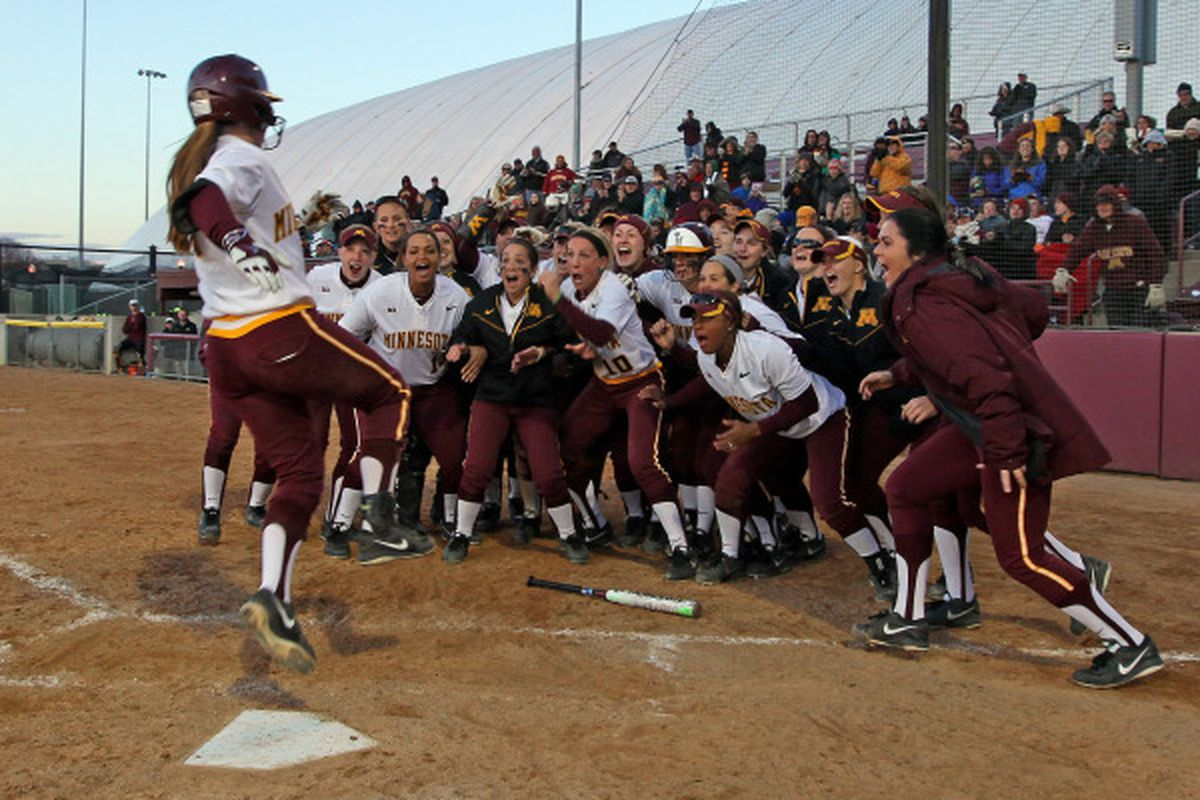 The Gopher Softball Team is ready for the Big Ten Tournament!