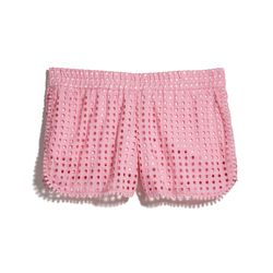 Eyelet shorts in pink, $26, 2-18, 14W-26W (plus-size online only)