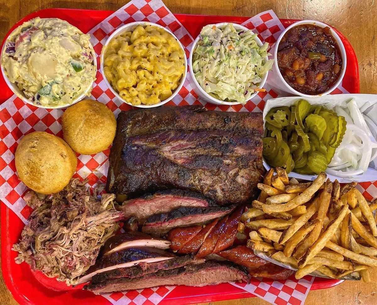 Barbecue and sides