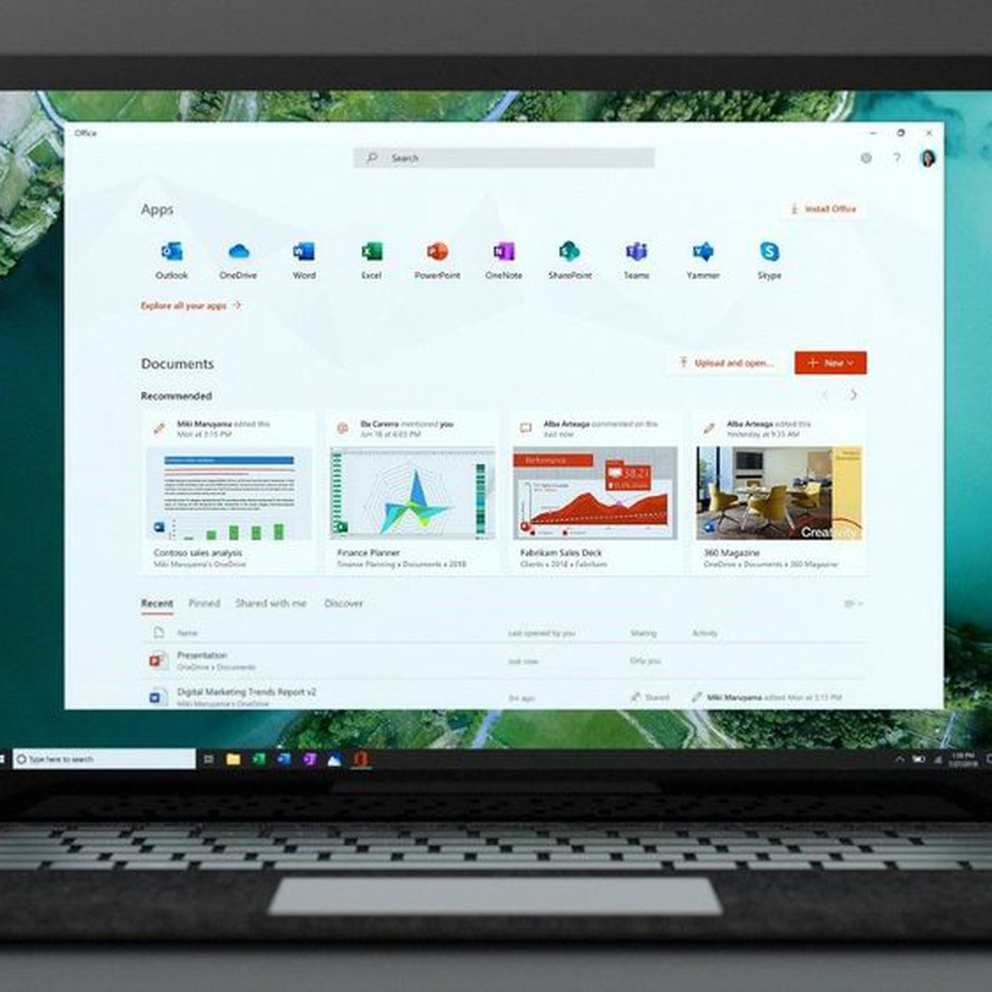 theverge.com - Tom Warren - Microsoft launches new Office app for Windows 10