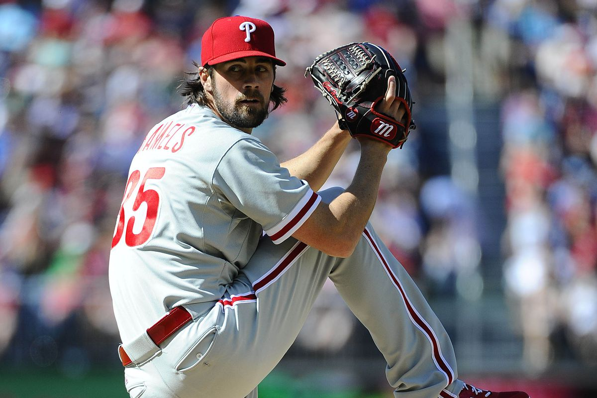 Cole Hamels: 2 wins away from 5th all-time in Phillies franchse history.