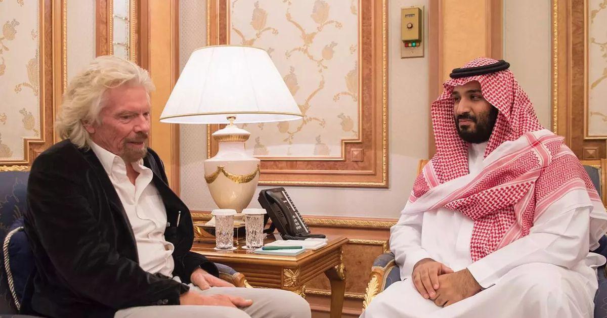 Richard Branson suspends Saudi Arabia's investment in space ventures over missing journalist