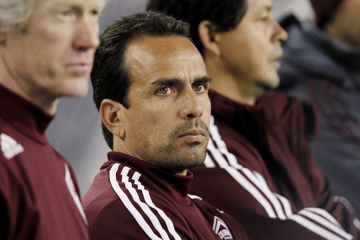 Head coach Oscar Pareja of the Colorado Rapids