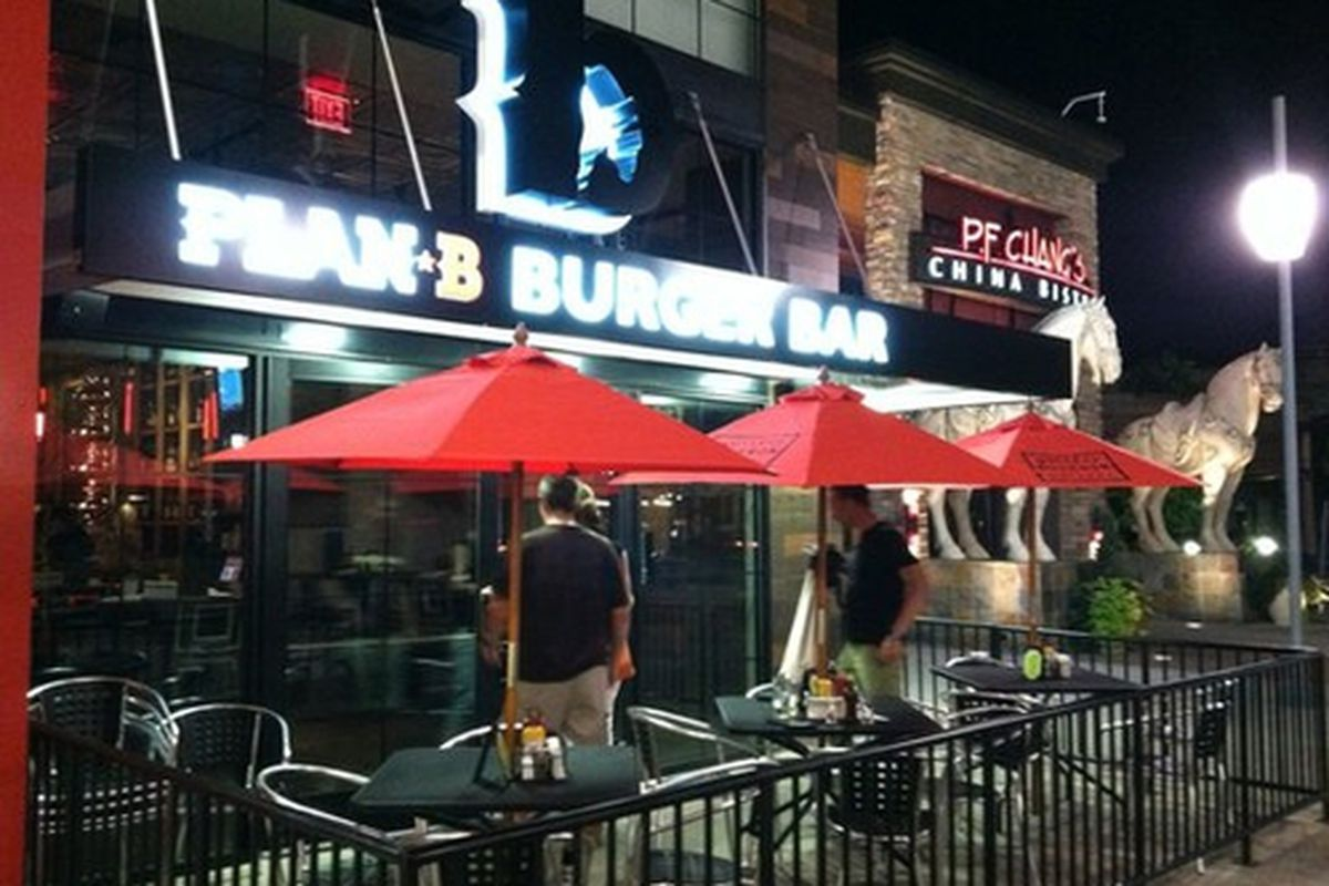 Plan B Burger Bar.